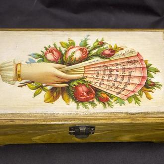 Купюрница подарочная коробка шкатулка для денег