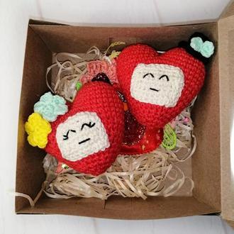 Сердечки. Сердечки в подарок.Маленькие сердца.