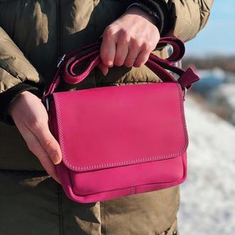 Женская сумочка из натуральной кожи