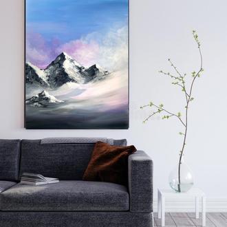 Картина « Горный пейзаж»