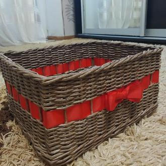 Плетеный короб