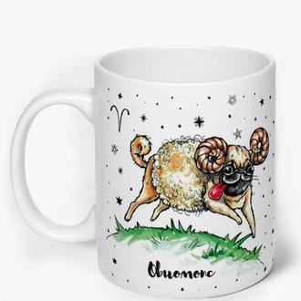 Чашка со знаками зодиака, Овен