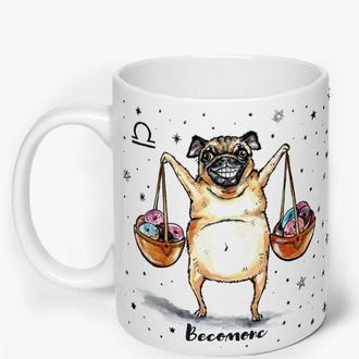 Чашка со знаками зодиака, Весы