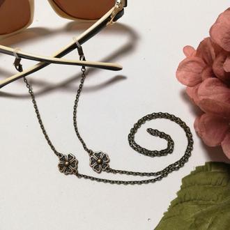 Ланцюжки для окулярів Ромб антик