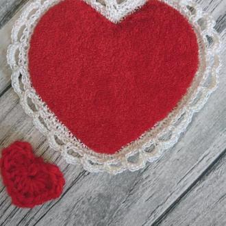 Валентинки - подставка под чашку