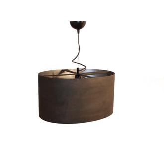Светильник подвесной металлический ржавчина М001-21