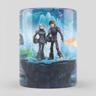 Чашка Как приручить дракона