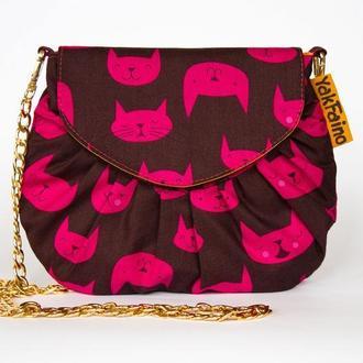 Женская сумочка  Мультяшные коты