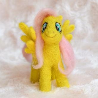 Игрушка Флаттершай - пони из серии мультфильмов My little pony