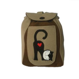Милый рюкзак с котиком