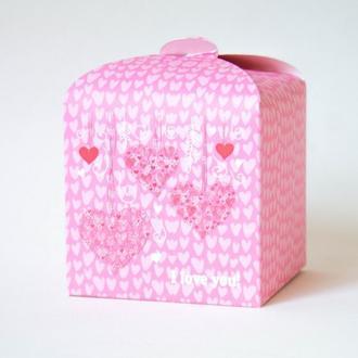 Подарочная складная коробочка
