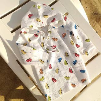Пляжная рубашка, туника для детей