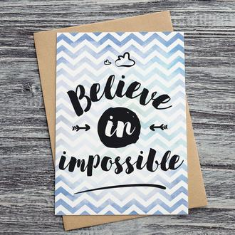 0048 Believe in impossible
