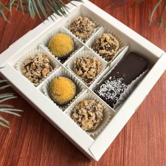 Коробка конфет на подарок без сахара, лактозы