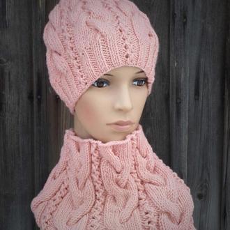 Комплект Ингрид (розовый персик)