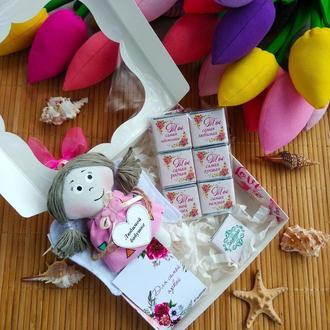 Подарочный набор для Бабушки. Шоколад с пожеланиями.