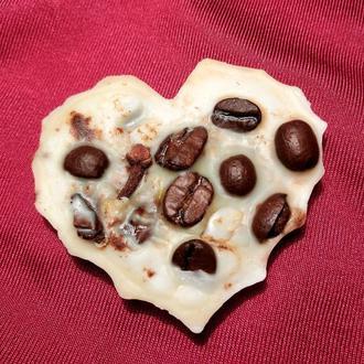 Натуральное ароматическое флорентийское саше, саше сердце, подарок на 14 февраля, кофе саше