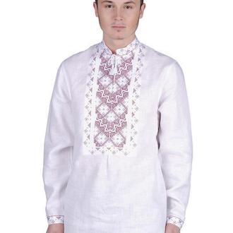 Сорочка чоловіча Творимир (льон білий)