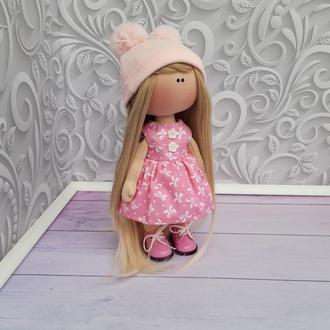 Онлайн мастер-класс по пошиву текстильной куклы