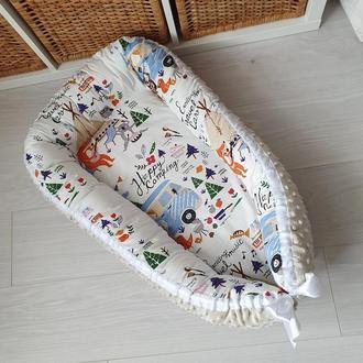 Гнездышко для новорожденного (кокон, бебинест) Camping