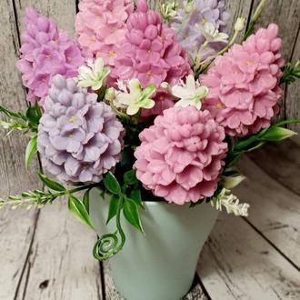 Букет квітів з мила