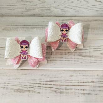 Резинки из еко-кожи куклы Лол