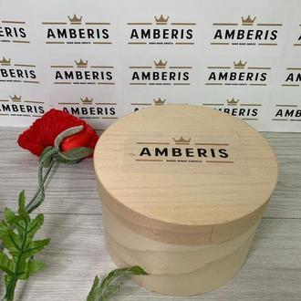 Сладости в деревянной коробке, конфеты Dattero, сухофрукты с орехами,1 кг