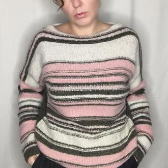 двусторонний свитер оверсайз