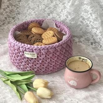 Корзина органайзер декор для дому для іграшок для ключів кошик для цукерок для печива для хліба