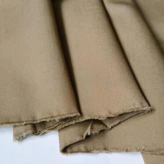 Ткань хлопок коттон для рукоделия молочный шоколад