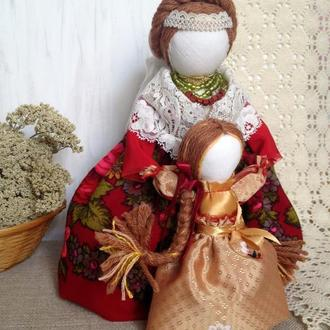 Кукла-мотанка Ведучка