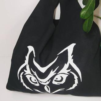 Єко-сумка,шопер совушка