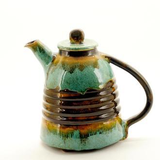 Керамический чайник для завариваний Ручная работа  800мл