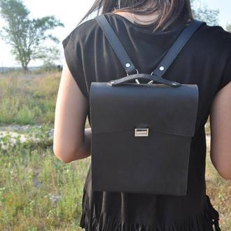 Кожаный рюкзак из натуральной кожи