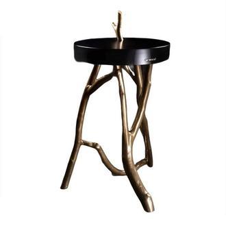 Роскошная подставка для растений. Декоративный столик. Дизайнерская подставка для домашнего декора.