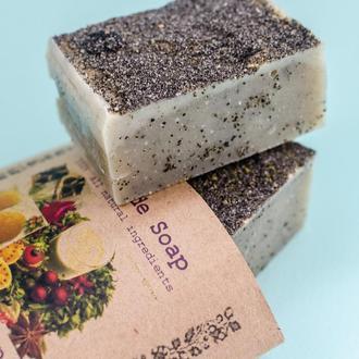 Мыло с маслом черного тмина для жирной и проблемной кожи