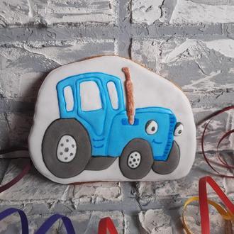 Пряник Большой Синий трактор