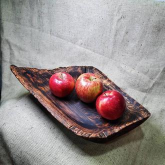 Доска для подачи, из натурального дерева