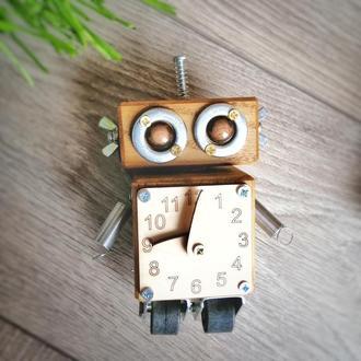 Робот деревянная игрушка