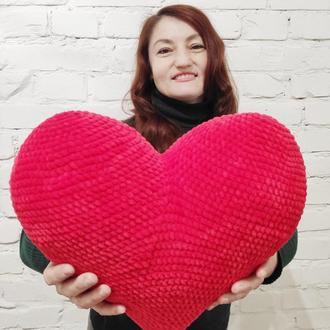 Подушка Плюшевое Сердце