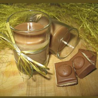 """Массажная свеча """"Шоколадный вечер"""" с натуральными маслами"""