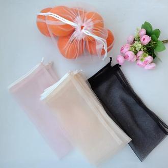 Эко мешочек из сетки, эко мешочек, екомешок для продуктов,эко пакет