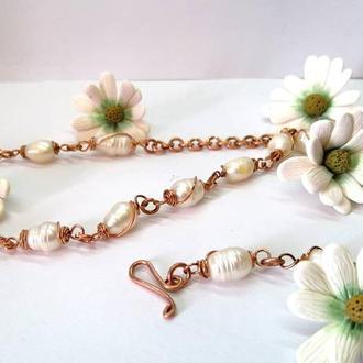 Прикраса з перлами