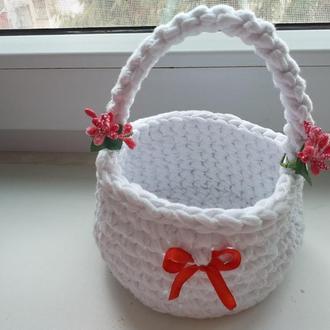 Корзина сумка Детская Пасхальная handmade