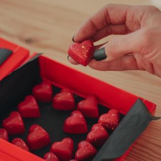 Коробка шоколадных конфет, 16 штук
