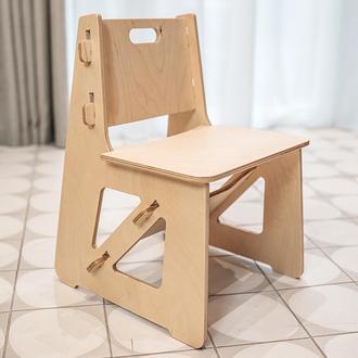 Детский деревянный стульчик из фанеры