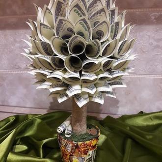 Денежное дерево, Долларовый топиарий