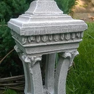 Садовая фигура, светильник, декор для сада