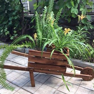 Декоративная тележка для дома и сада