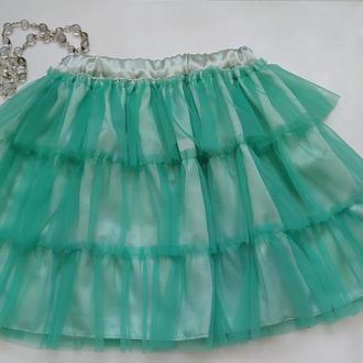 Детская юбка пачка, юбка для девочки, фатиновая юбка, юбка из фатина